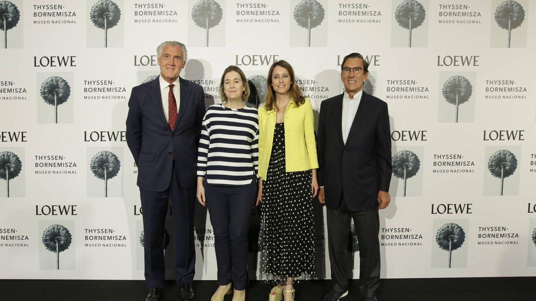 Juan Pedro Abeniacar, Evelio Acevedo, Andrea Levy y Marta Rivera de la Cruz.  (Cortesía)