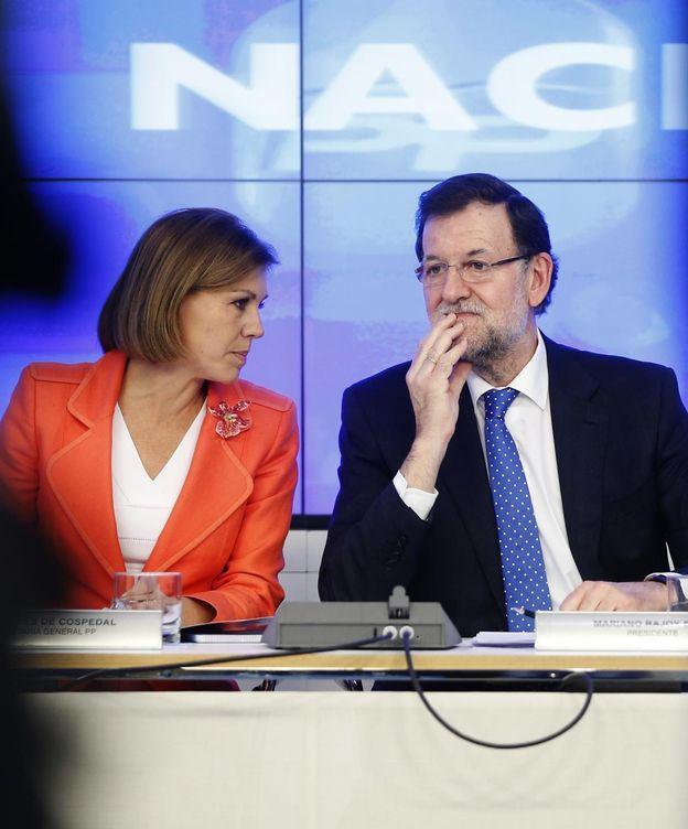 Foto: María Dolores de Cospedal y Mariano Rajoy. (Reuters)