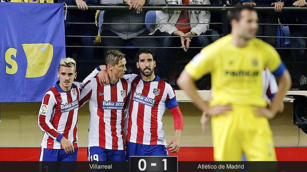 La rabia contenida de Torres, el pánico de Asenjo y tres puntos de oro del Atleti