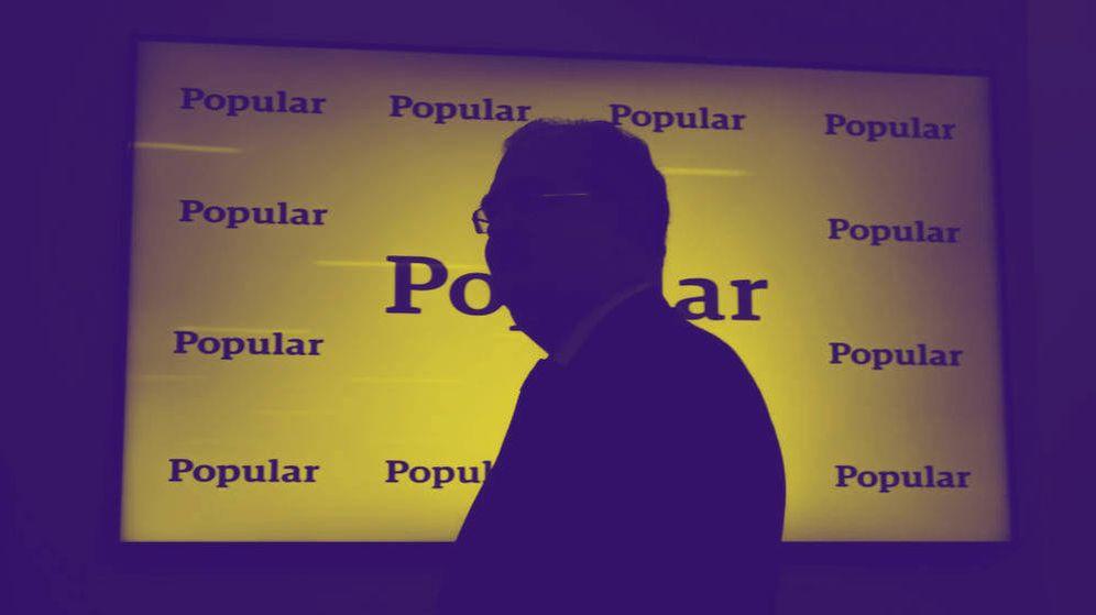 Foto: Presentación de resultados de Banco Popular de comienzos de 2017. (EFE)