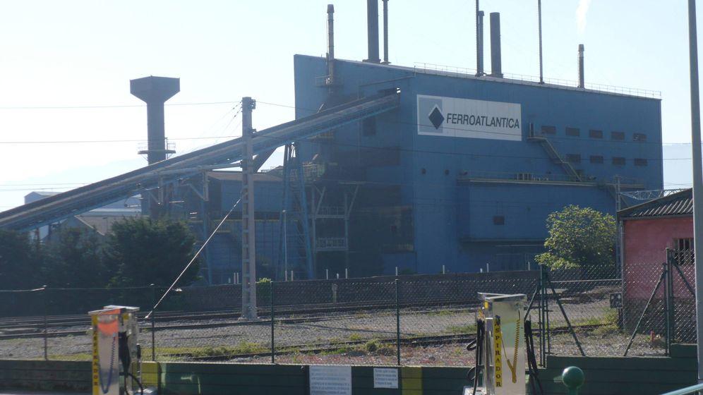 Foto: Fábrica de Ferroatlántica. (Wikipedia)