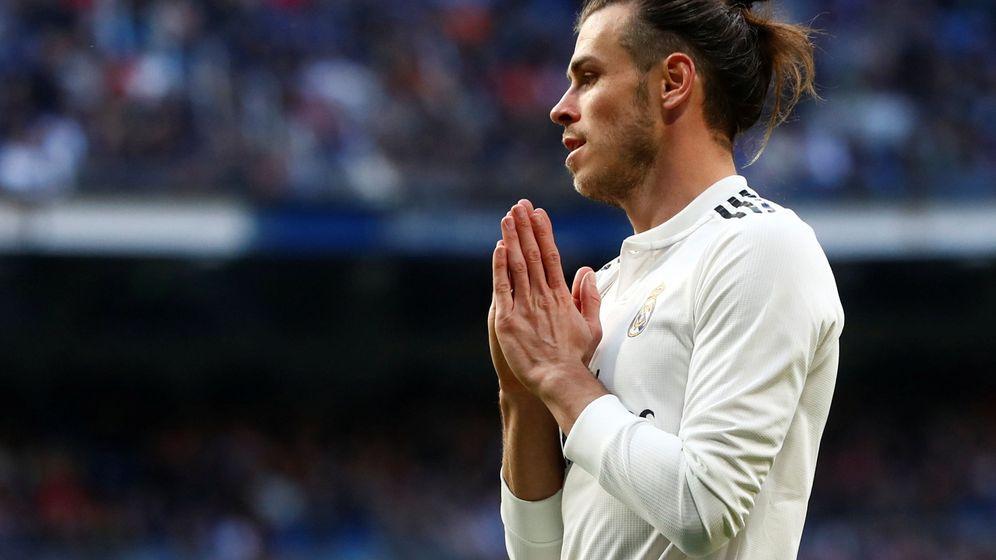 Foto: Gareth Bale se lamenta durante un partido del Real Madrid. (Efe)