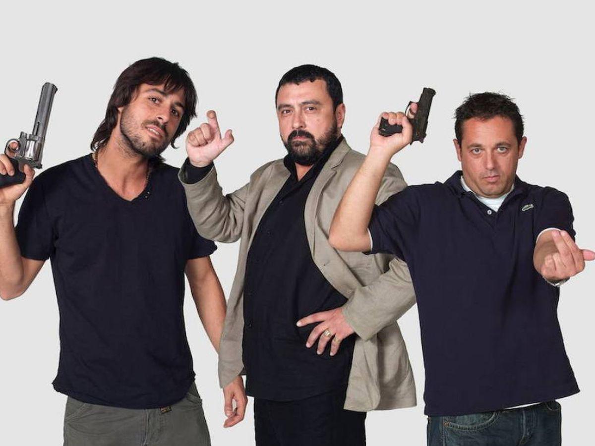 Foto: 'Los hombres de Paco' originales. (Atresmedia)