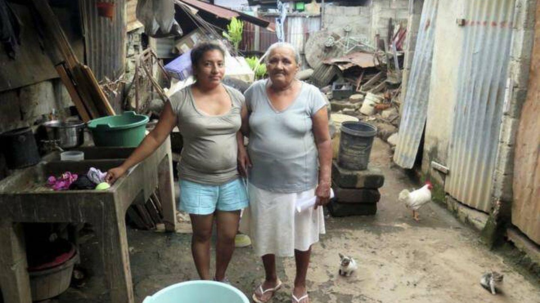 Una barriada en Managua. (J.B.)
