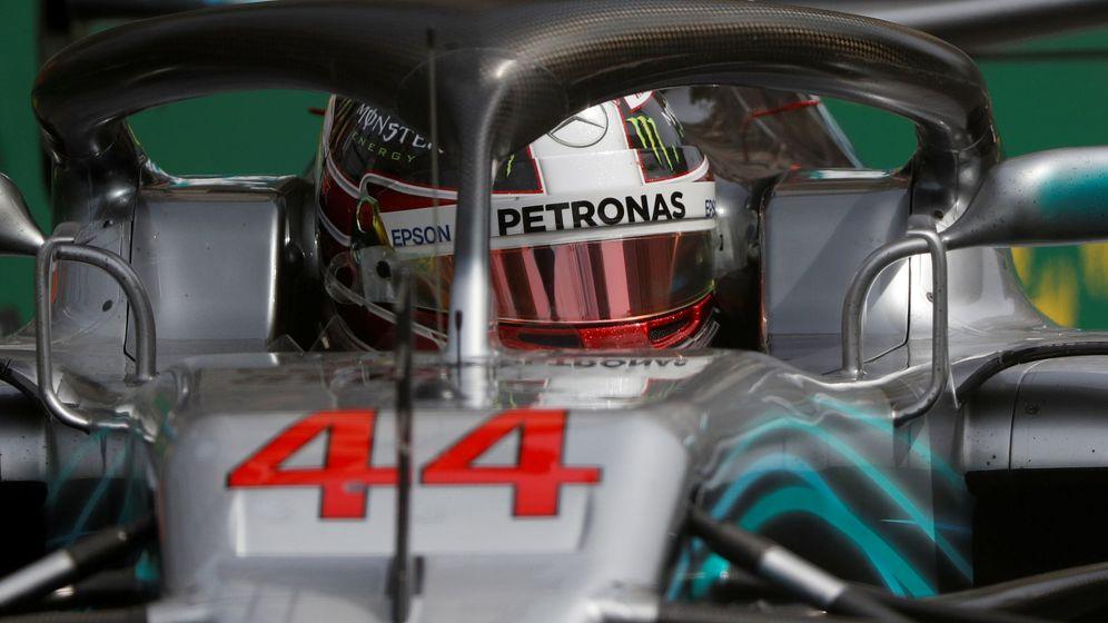 Foto: Lewis Hamilton durante los entrenamientos libres del Gran Premio de Azerbaiyán (Reuters)