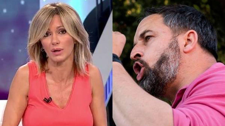 Hay que ser miserable: Abascal (Vox) da plantón a Susanna Griso y 'Espejo público'