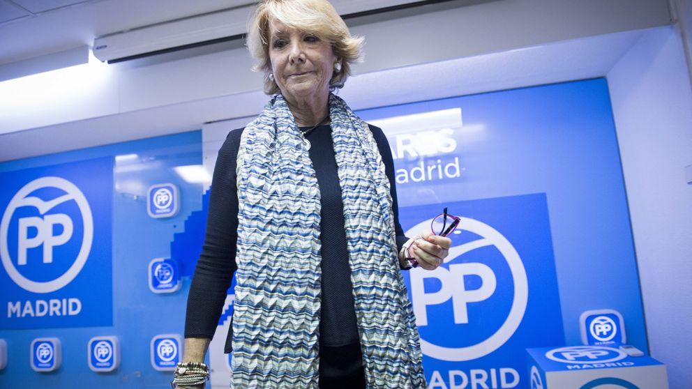La Púnica adelanta la salida de Aguirre de la presidencia del PP de Madrid