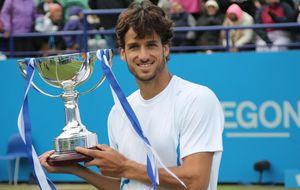 Feliciano López reina por segundo año consecutivo en Eastbourne