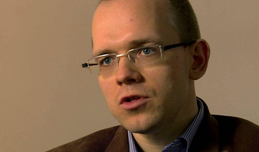 Foto: El ensayista Evgeny Morozov.(Nexus Institute)