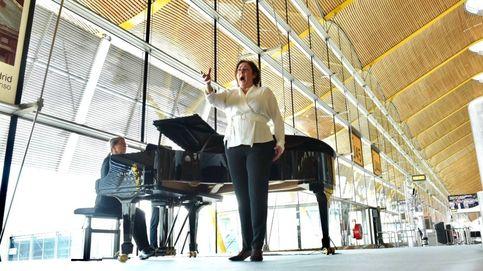 Ópera en el aeropuerto: actuación sorpresa de 'Turandot' en Barajas