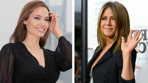 Reencuentro de Aniston y Angelina (post Brad Pitt) en los Globos de Oro
