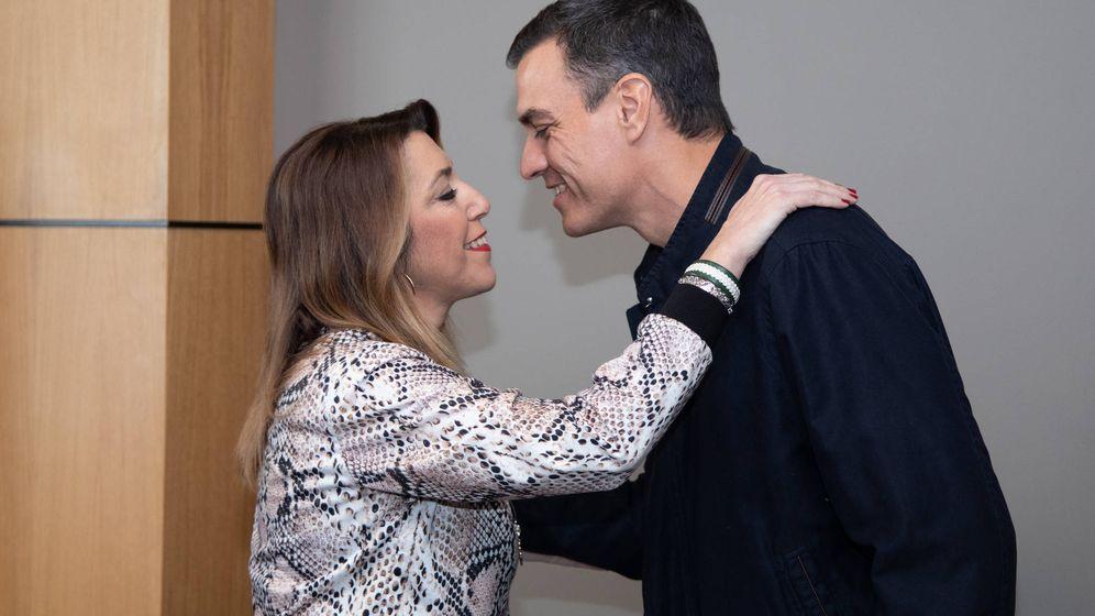 Foto: Pedro Sánchez y Susana Díaz, el pasado 16 de febrero en Sevilla. (Inma Mesa | PSOE)
