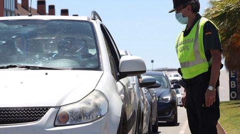 Los guardias civiles piden menos controles de alcoholemia por el riesgo de contagio