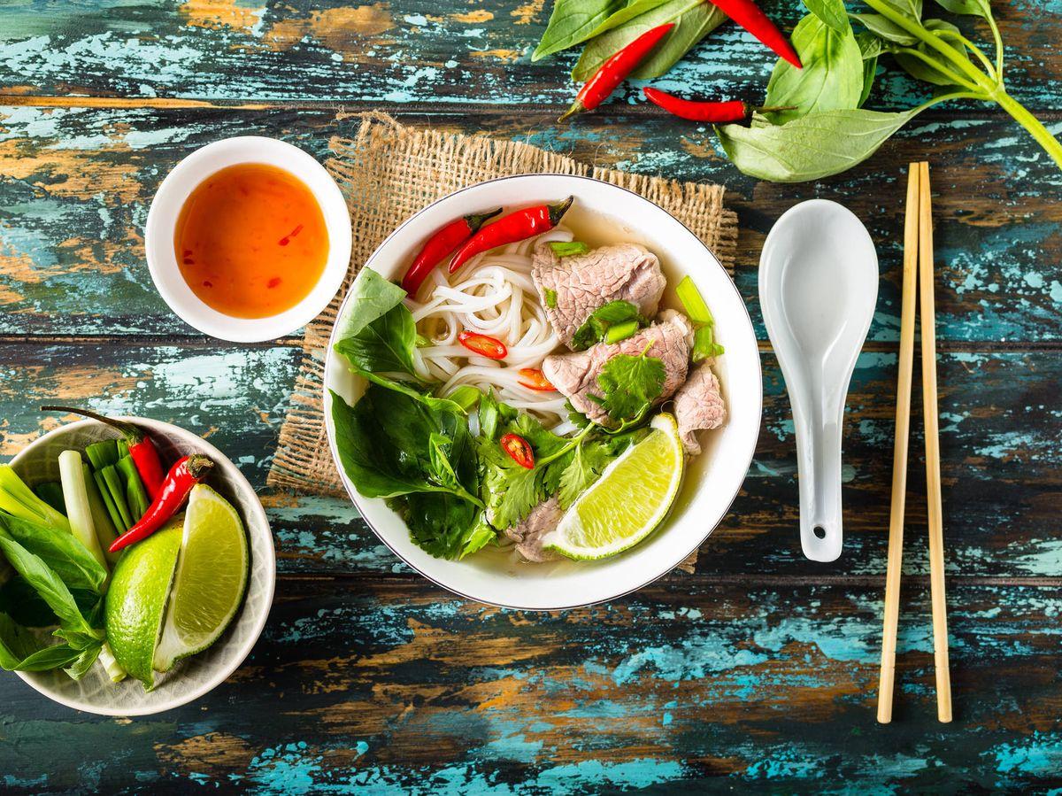 Photo: Pho soup, a Vietnamese classic.  (iStock)
