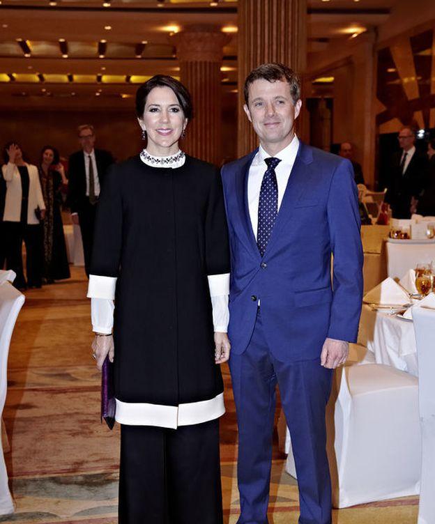 Foto: La princesa Mary y el príncipe Federico en su visita a Arabia Saudí