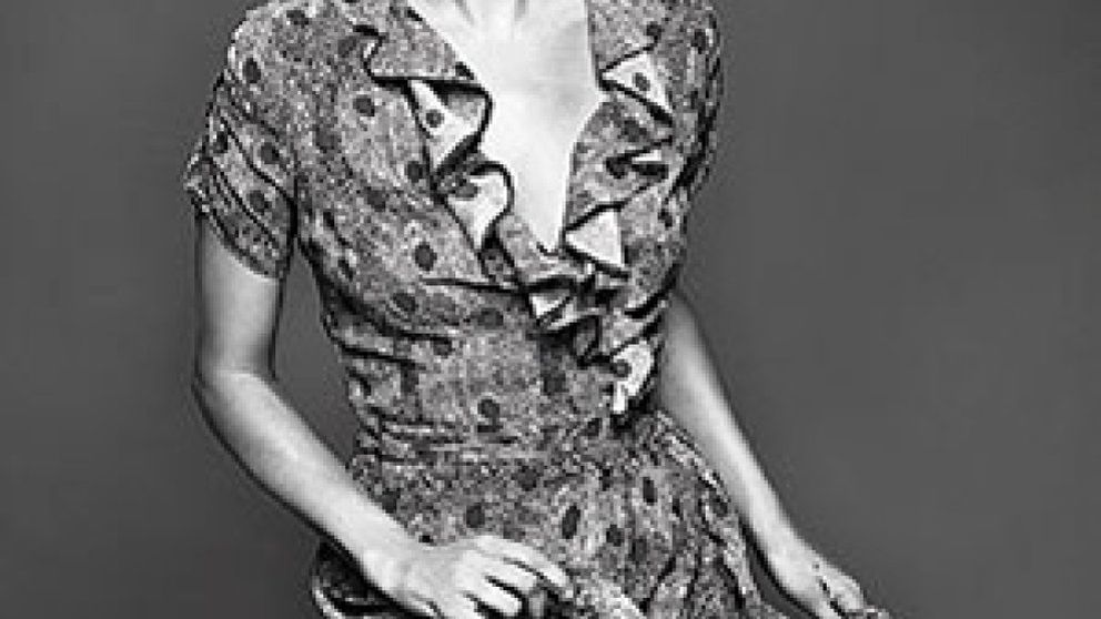 Kate Moss enseña a desfilar a su hija