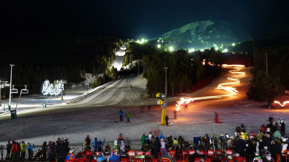 Foto: El esquí nocturno, la apuesta ganadora de Masella