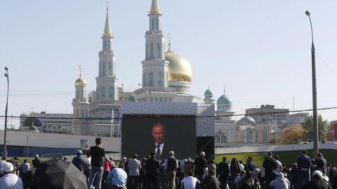 Putin, Erdogan y Abás inauguran en Moscú la mezquita más grande de Europa