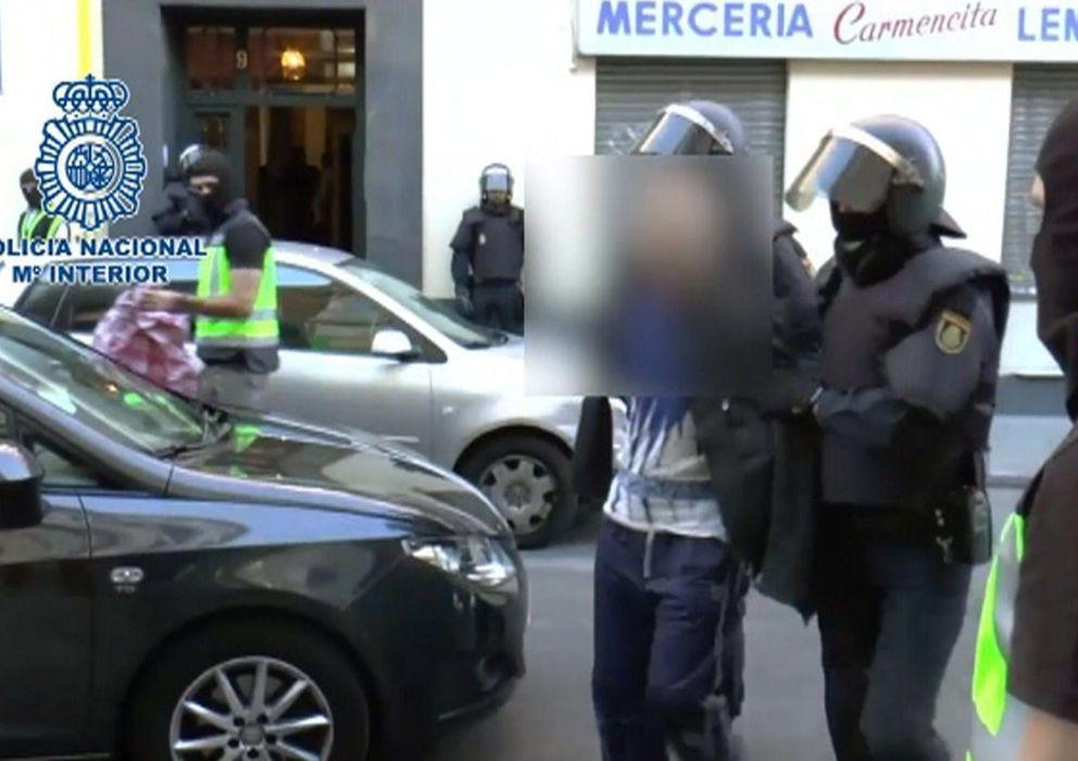 Foto: Operación contra una red internacional de captación y envío de yihadistas a Siria. (EFE)