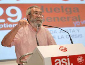 Méndez abandera la llamada a la huelga general