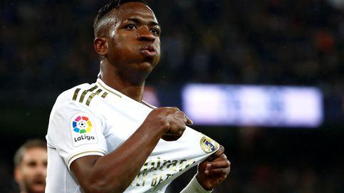 Vinícius, atento a las ganas que tiene Zidane de entregarle el Real Madrid a Eden Hazard