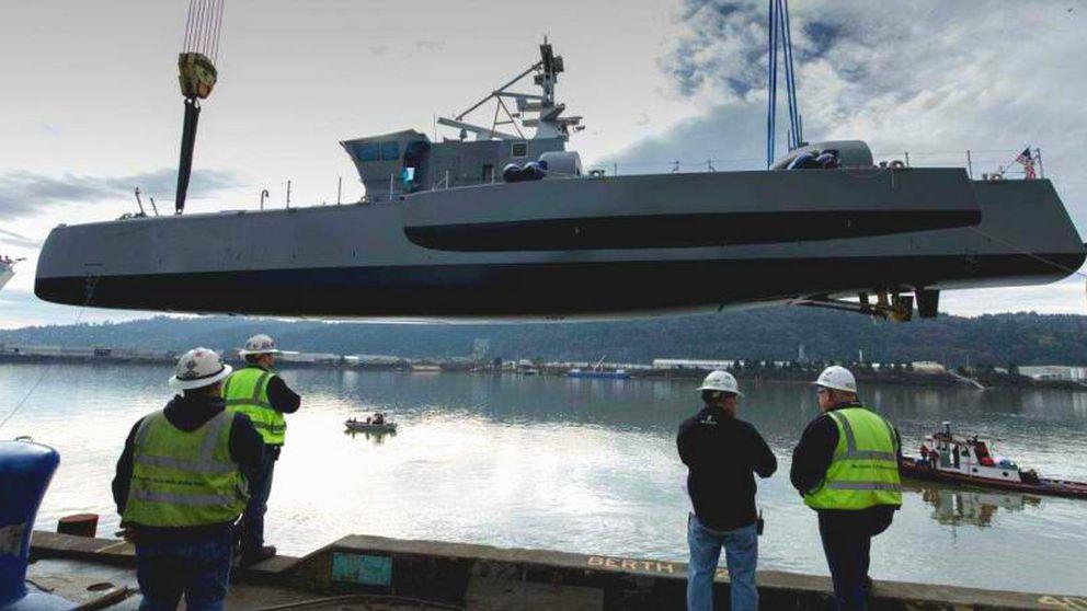 Este es el buque autónomo de EEUU para 'cazar' submarinos