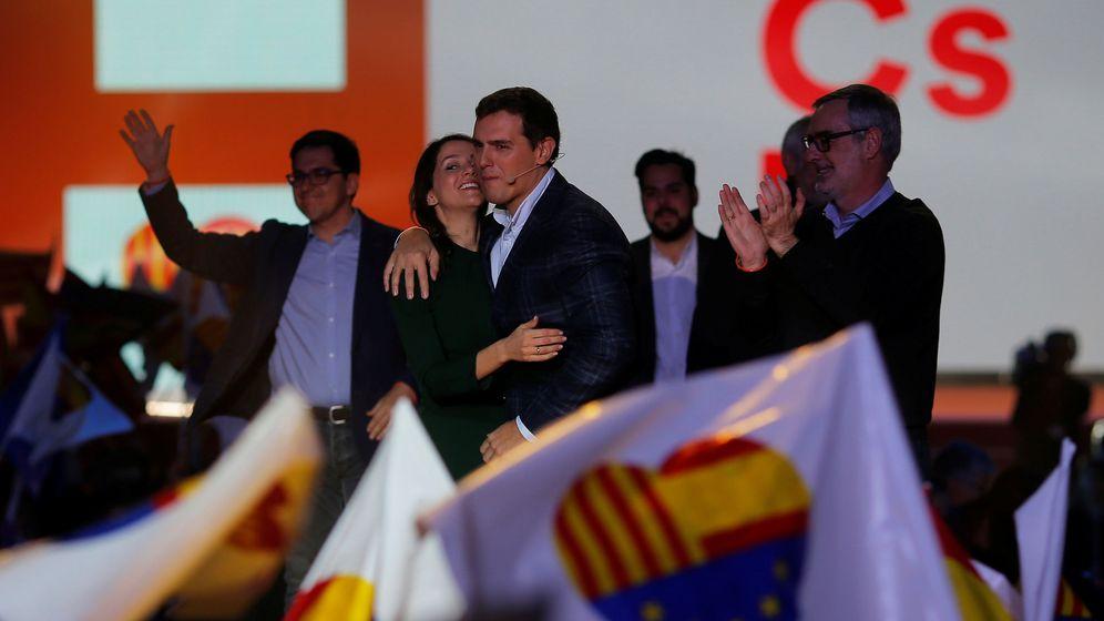 Foto: Acto de campaña de Ciudadanos. (Reuters)