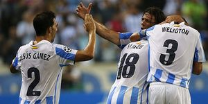 Foto: El juego del Málaga enamora en la Champions