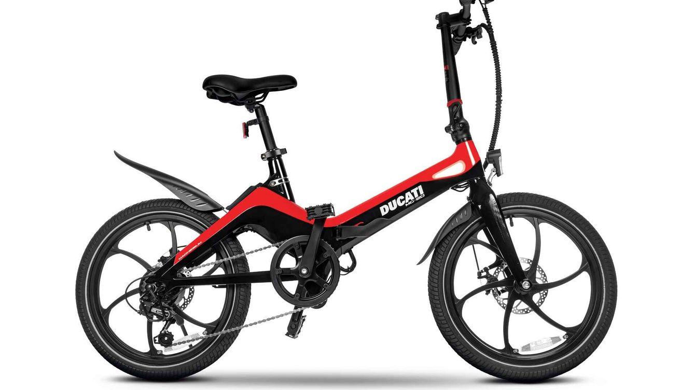 Lo último de Ducati no es una moto, es una bicicleta plegable