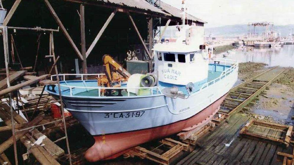 Foto: Fotografía de archivo del registro de pesqueros del Ministerio de Agricultura, Pesca y Alimentación, del barco pesquero gaditano Rua Mar. (EFE)