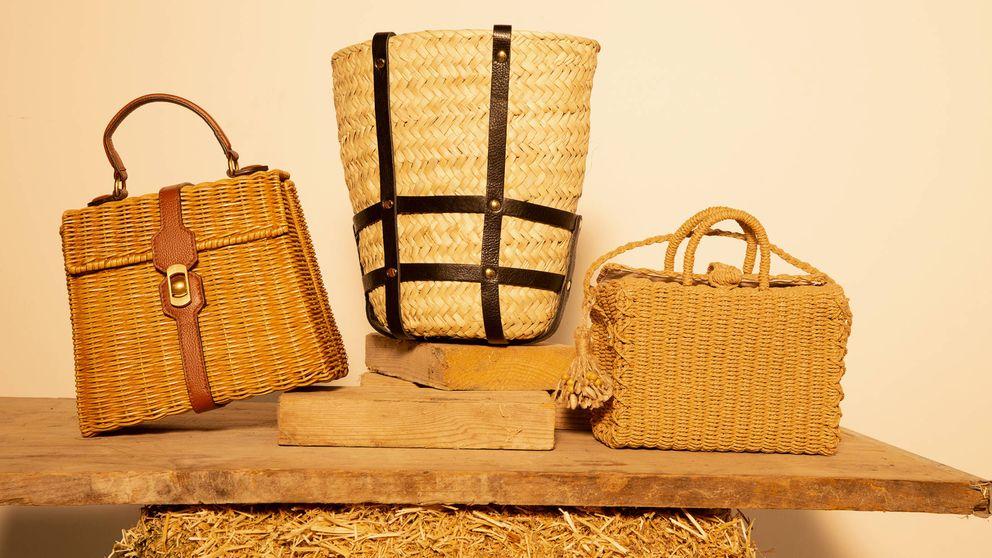 Los bolsos de tejidos naturales que trenzarán tu verano