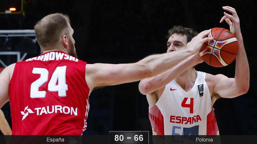 Gasol se come a Polonia: 30 puntos y 6 triples para meter a España en cuartos