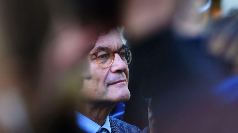 Foto: El expresidente de la Generalitat y presidente del PDeCAT, Artur Mas. (EFE)