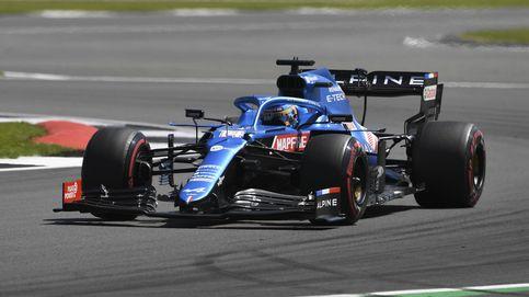 Fernando Alonso asombra en Silverstone: Espero que os haya gustado el show