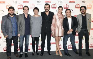 Adriana Ugarte y 'El tiempo entre costuras' triunfan en los MiM 2014