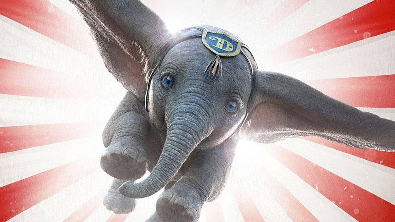 Foto: Detalle del cartel de 'Dumbo'