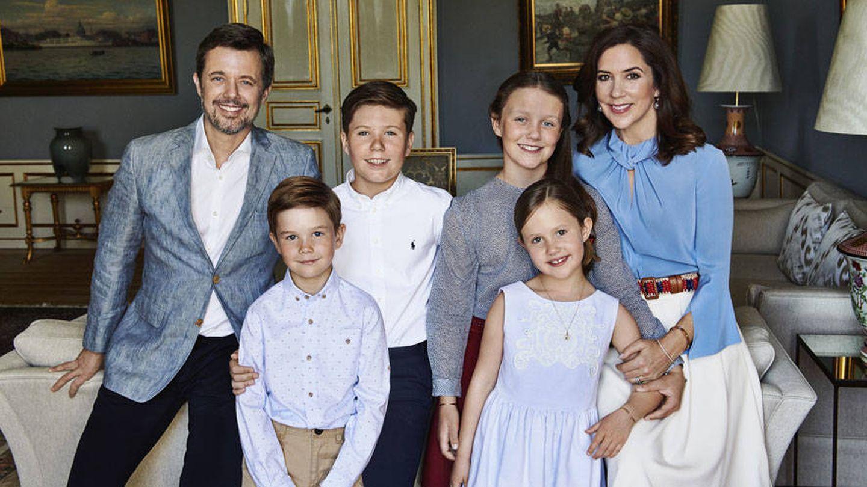 La familia de Federico y Mary. (Kongehuset)