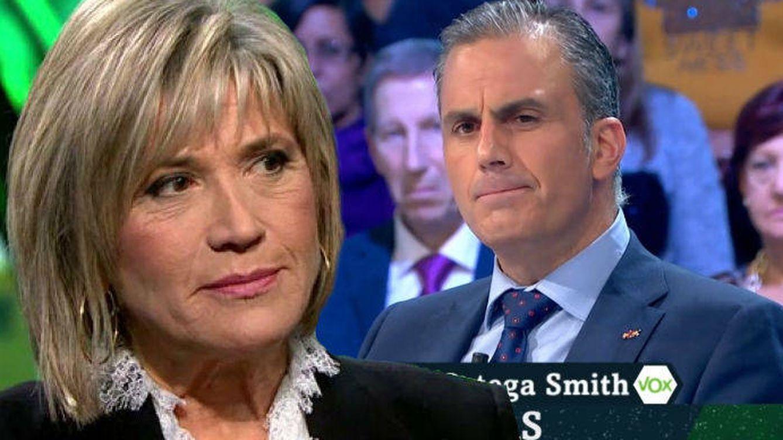 Foto: Julia Otero y Ortega Smith. (El Confidencial).