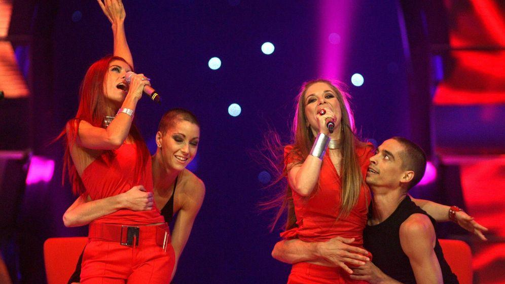 Foto: Las Ketchup en 'Eurovisión 2006'. (RADIAL PRESS)