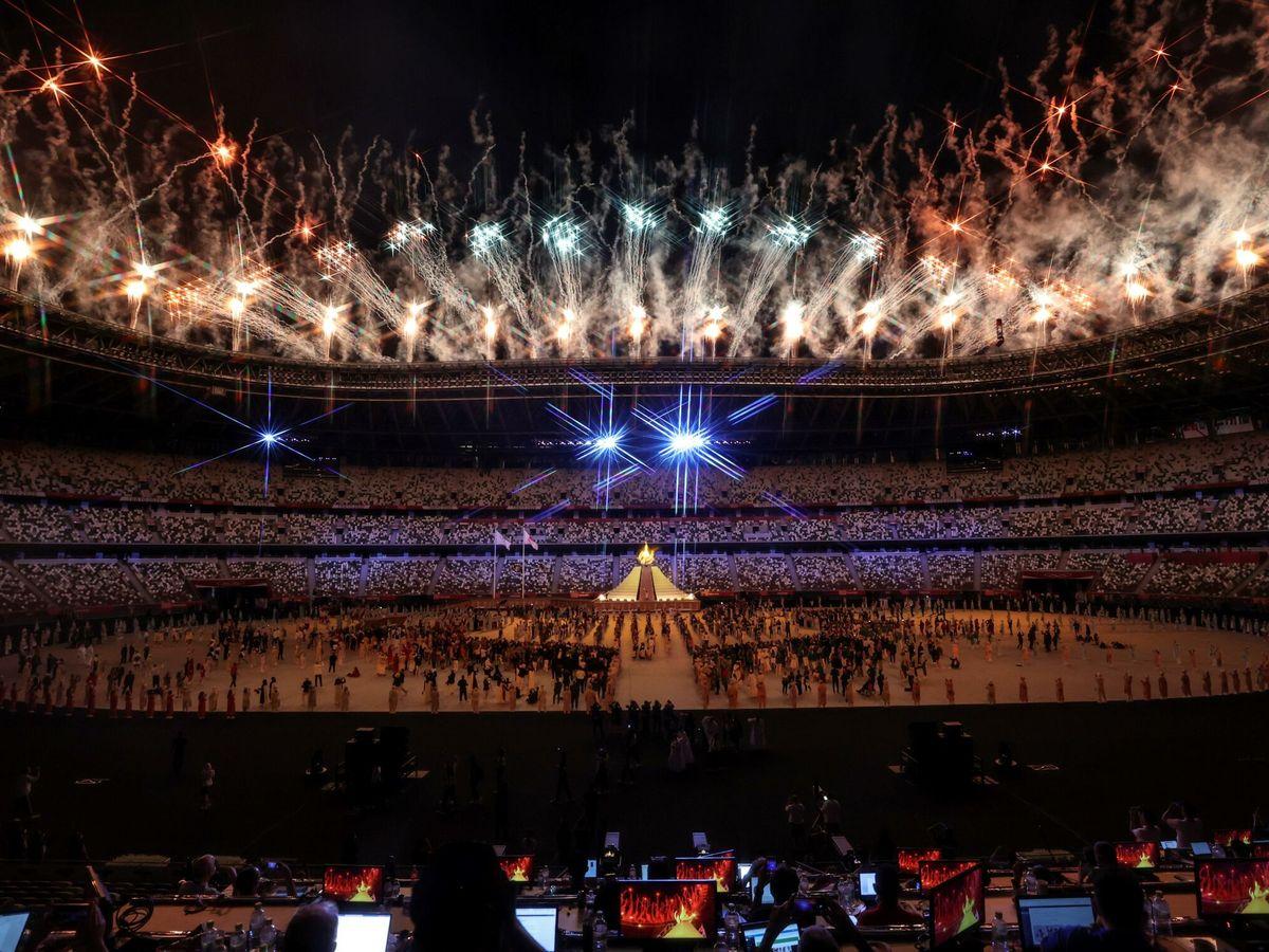 Foto: Ceremonia inaugural de los JJOO. (EFE)
