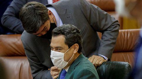 El PP andaluz no aceptará trasvase de cargos de Cs para preservar la coalición en la Junta
