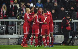 El Bayern se pasea ante al Eintracht para seguir con 13 puntos de ventaja