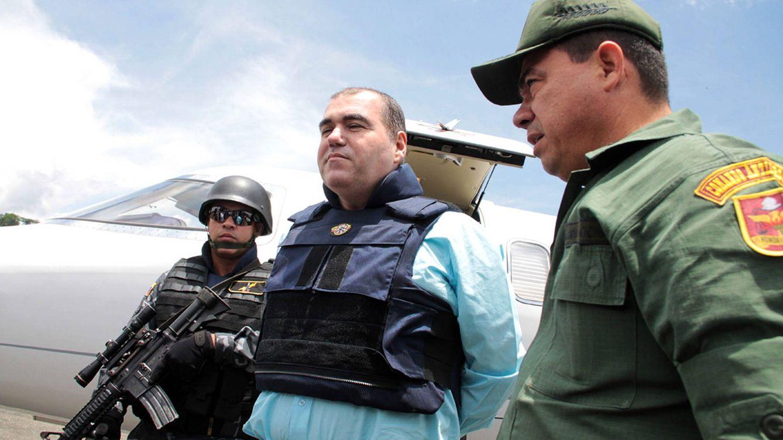 Foto: El narcortraficante venezolano Walid Makled fue extraditado desde Colombia a su país en 2011.(EFE)