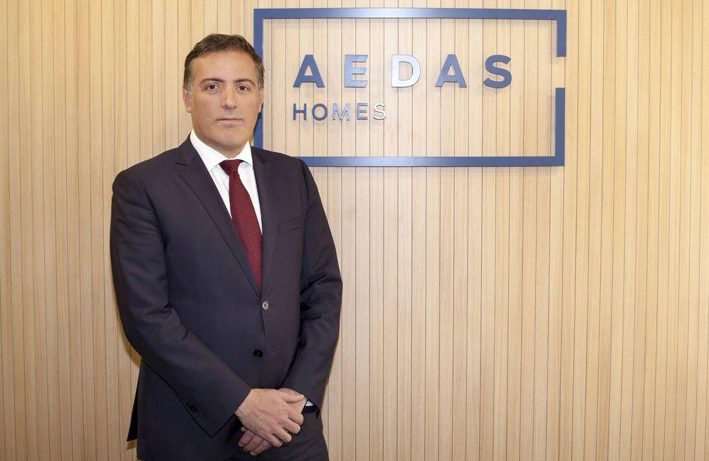 Foto: David Martínez, director general de Aedas Homes.