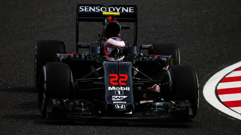 Foto: Jenson Button, este fin de semana, en el GP de Japón.