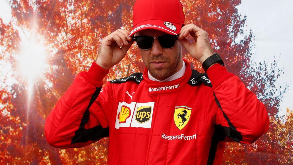 Foto: Sebastian Vettel, en Melbourne, antes del frustrado Gran Premio de Australia (REUTERS)