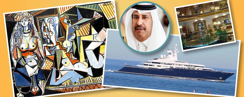 La lista de propiedades del hombre más influyente de Qatar que no llegarás a 'catar'