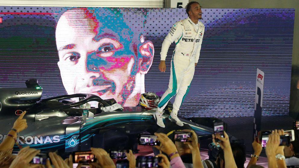 Fórmula 1: Manotazo de Hamilton a Ferrari en Singapur con Alonso 11º y Sainz 12º