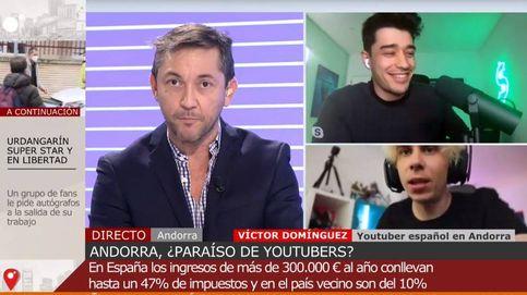 Encontronazo entre Javier Ruiz y un youtuber que vive en Andorra