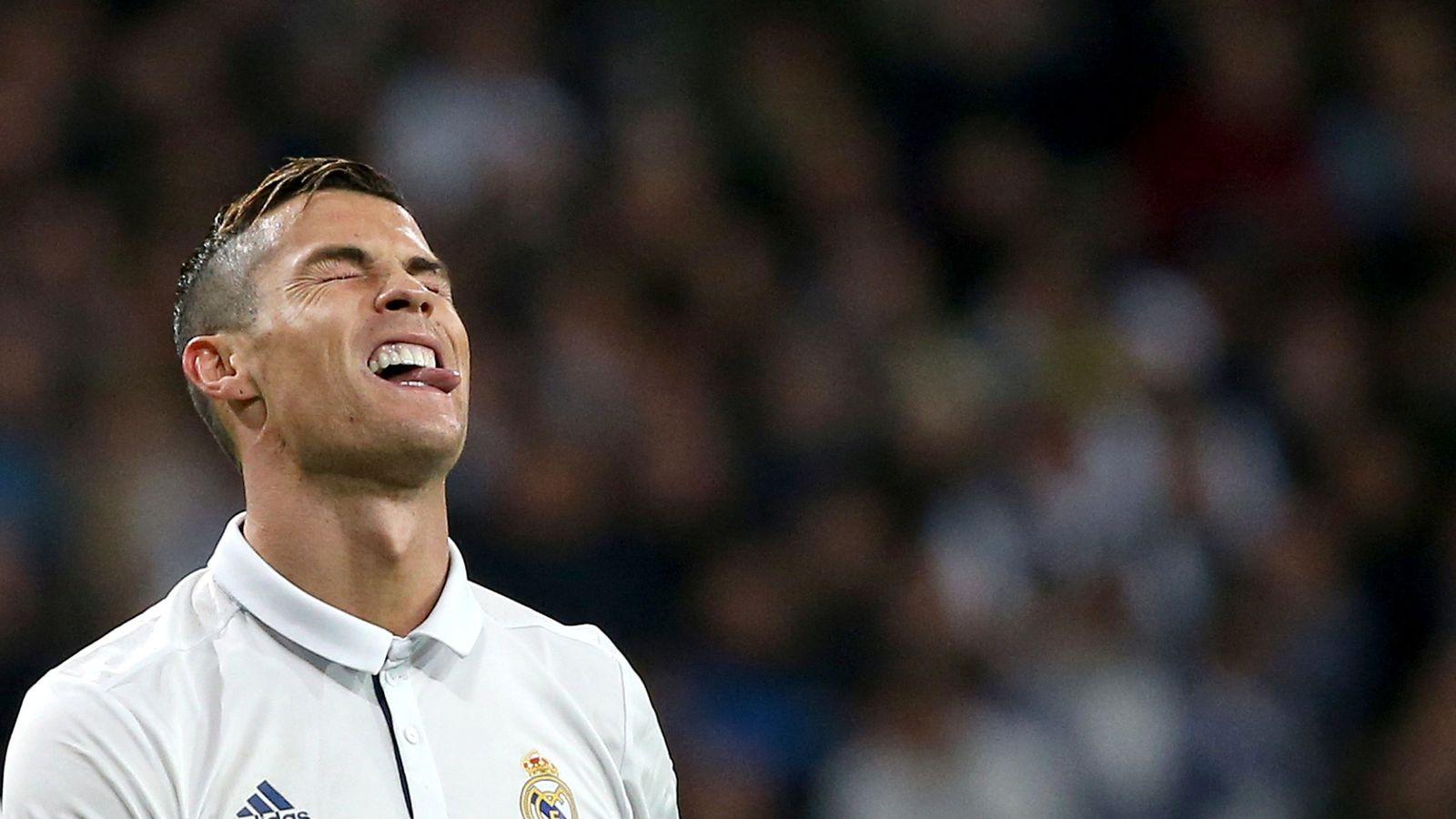 Foto: Cristiano, en el partido ante el Dortmund (Juan Medina/Reuters).